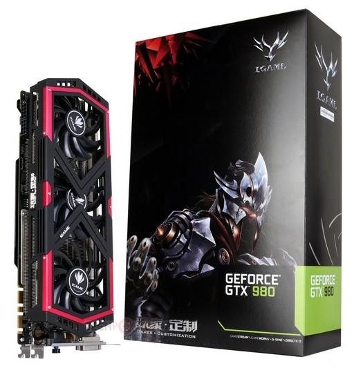 Colorful lance la GeForce GTX 980 iGame