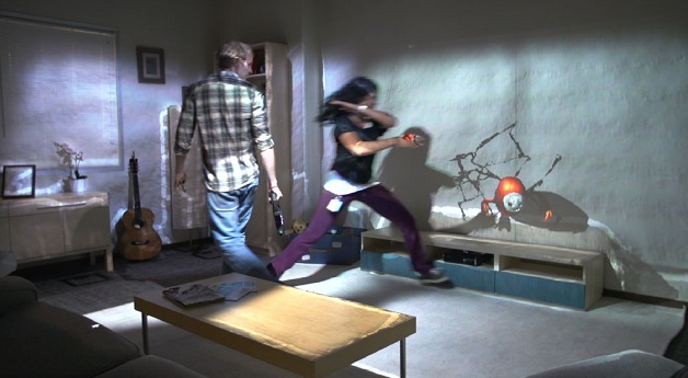 Jouer sur les murs de son salon avec RoomAlive