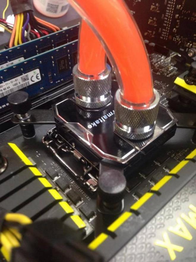 Thermaltake tease sur un waterblock
