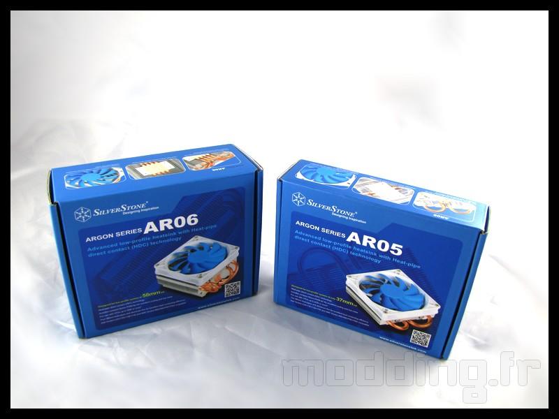 [TEST] Ventirad Silverstone Argon AR05 et AR06