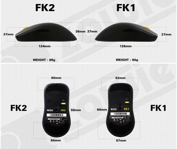Update de la FK1 chez ZOWIE