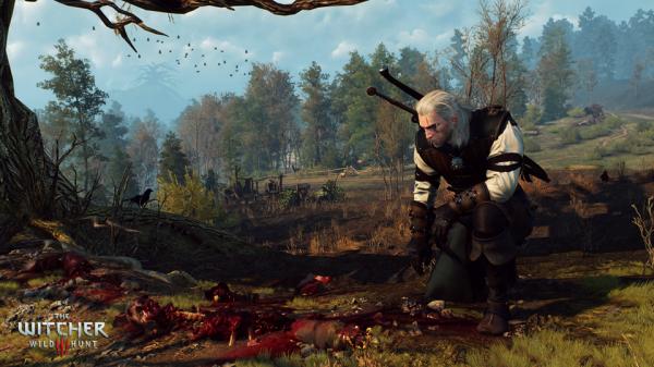la mort pour de vraie dans The Witcher 3