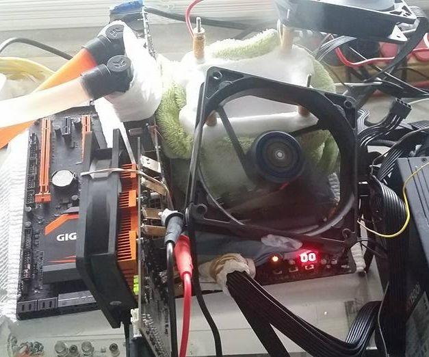 Un I7-5960X qui turbine à 5920 MHz