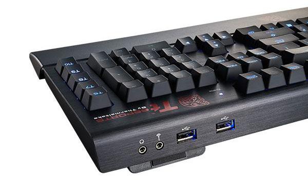 ThermalTake lance un clavier en alu