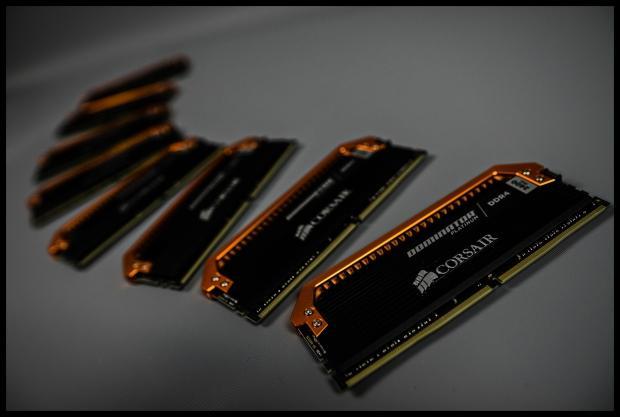De la DDR4 orange chez Corsair