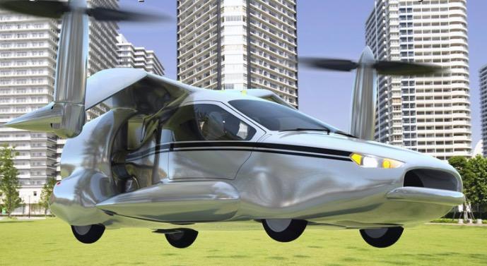Des voitures volantes en 2016?