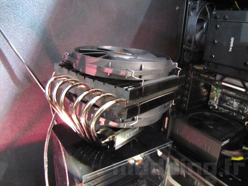 Deux nouveaux ventirads sur le stand Be quiet! de l'ITPartners 2015