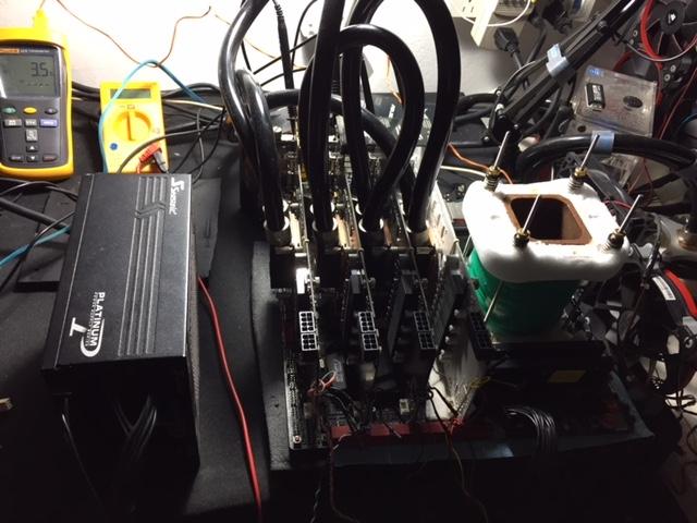 Nouveau record avec un quad SLI de GTX 980