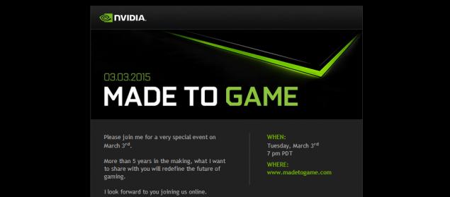 Nvidia prépare une console ?