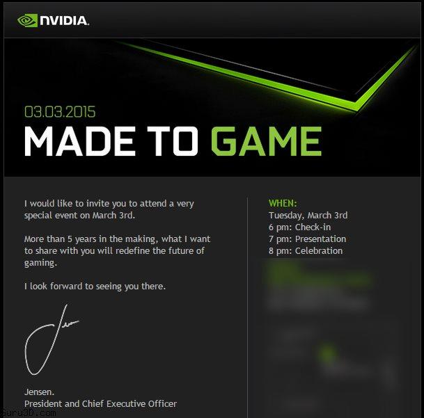 Nvidia veut redéfinir le futur du jeu vidéo