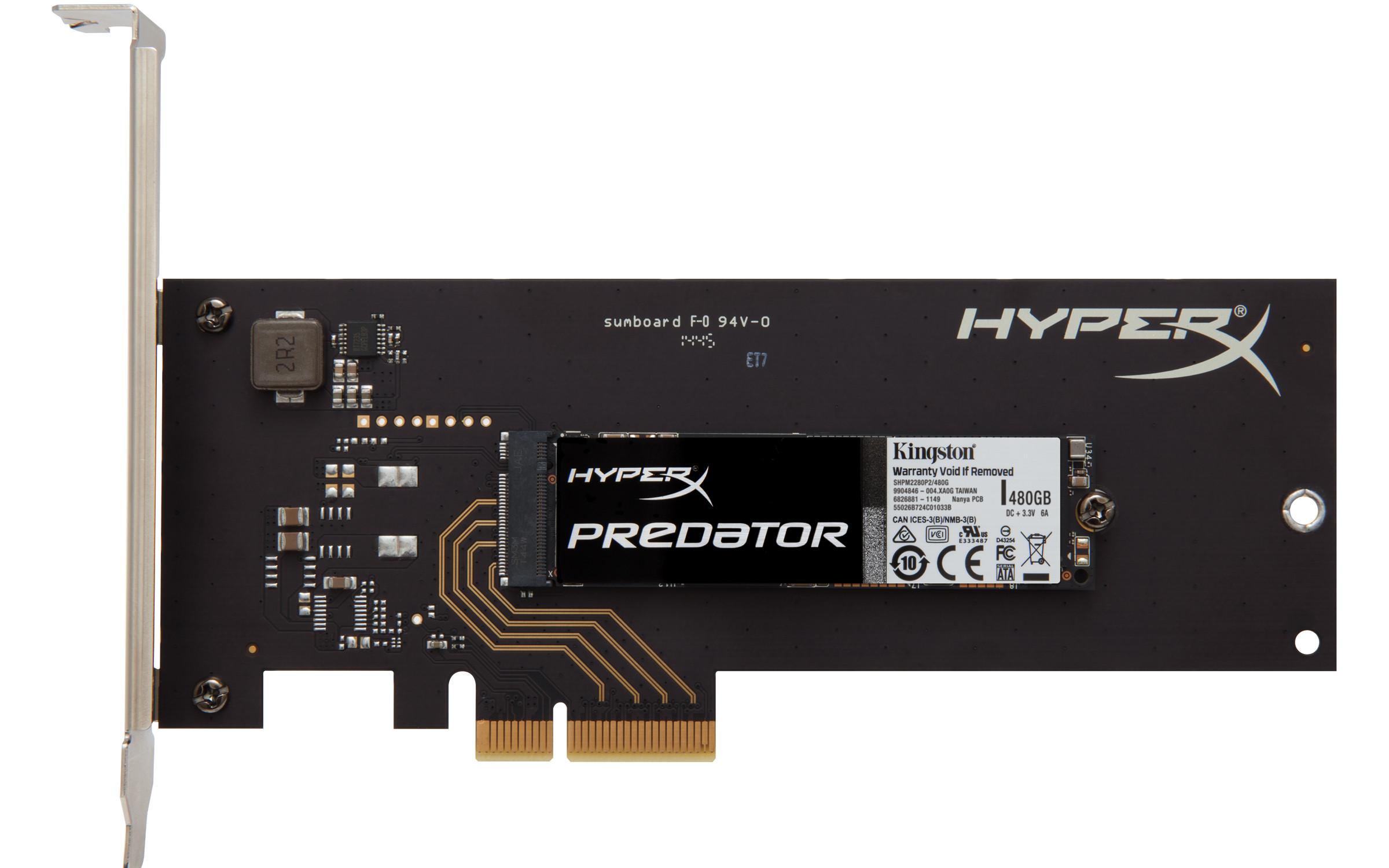 Un SSD PCIe chez HyperX