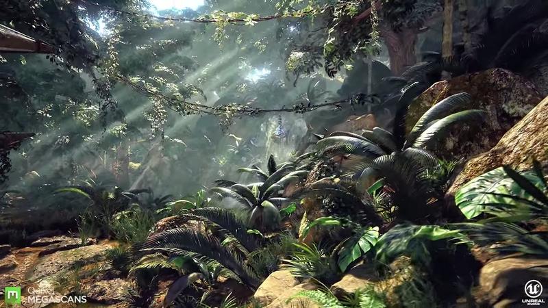 Dans la jungle avec Unreal Engine 4