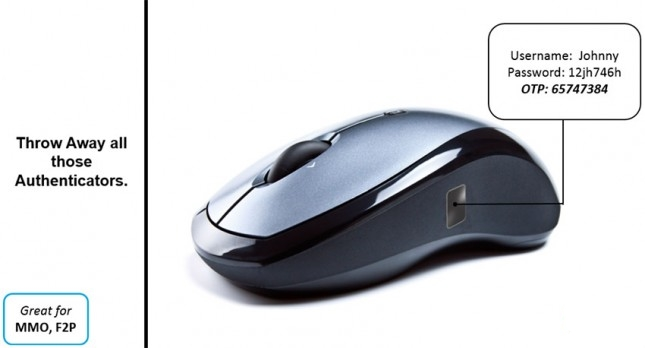 Des capteurs d'empreintes dans vos souris