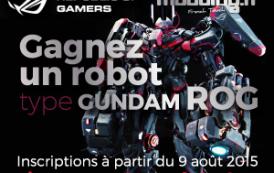[CONCOURS] Le robot gundam ROG a trouvé un papa...