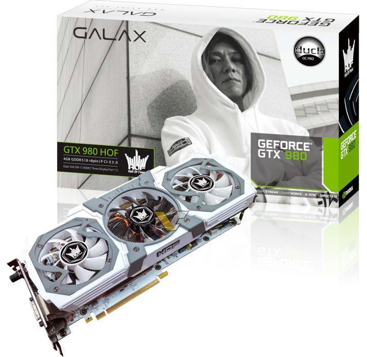 Deux GTX 980 HOF de plus chez GALAX