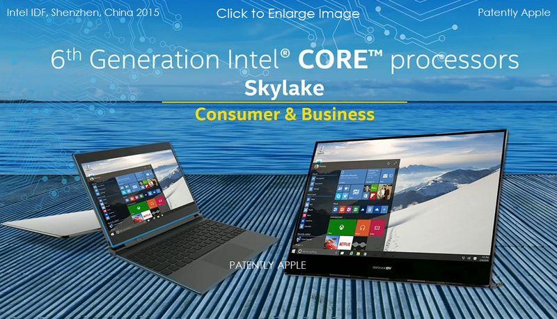 Intel dévoile Skylake et son nouveau Chipset