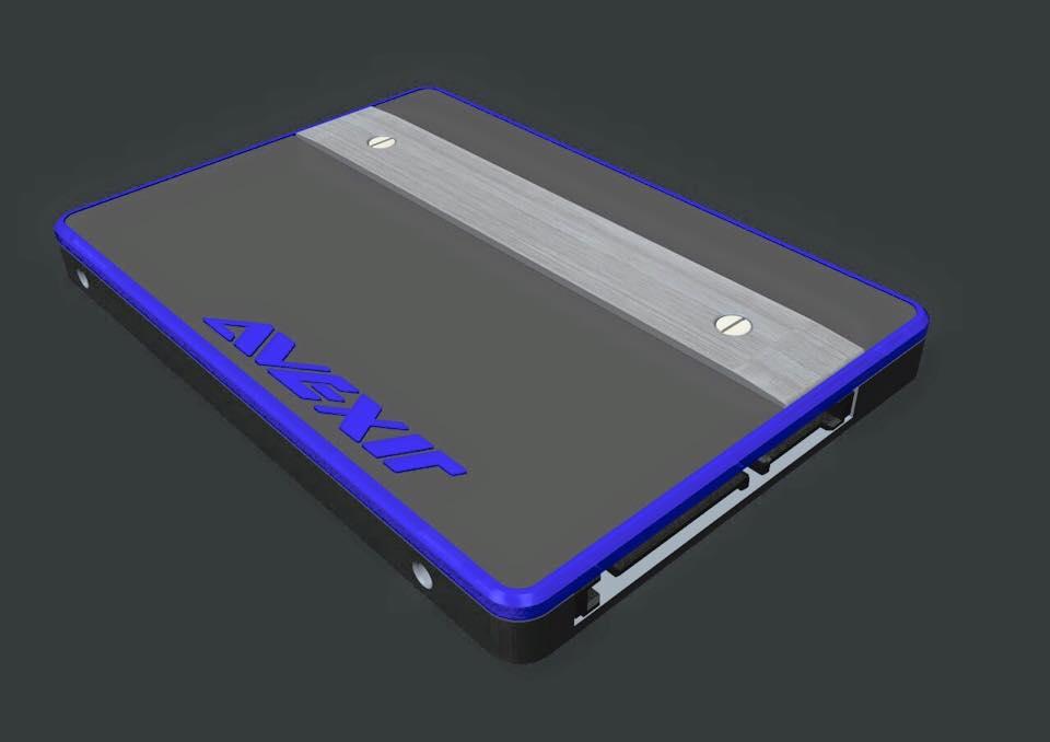 Un SSD avec des LEDs chez Avexir