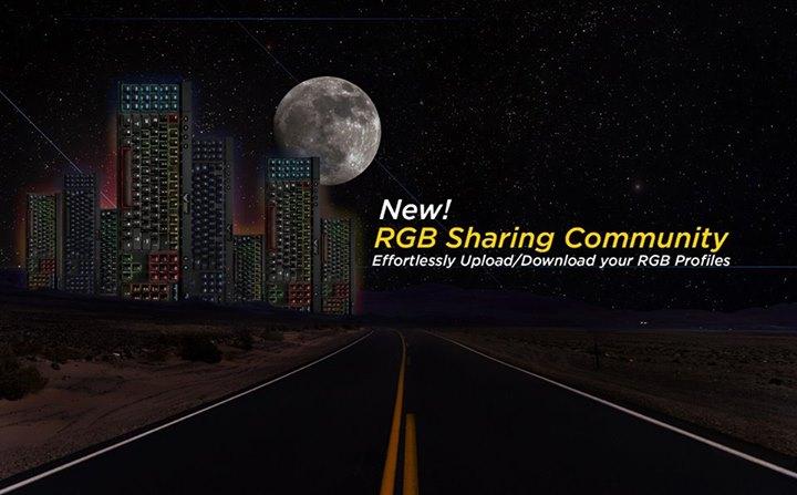 Partager vos jolis effets RGB avec Corsair