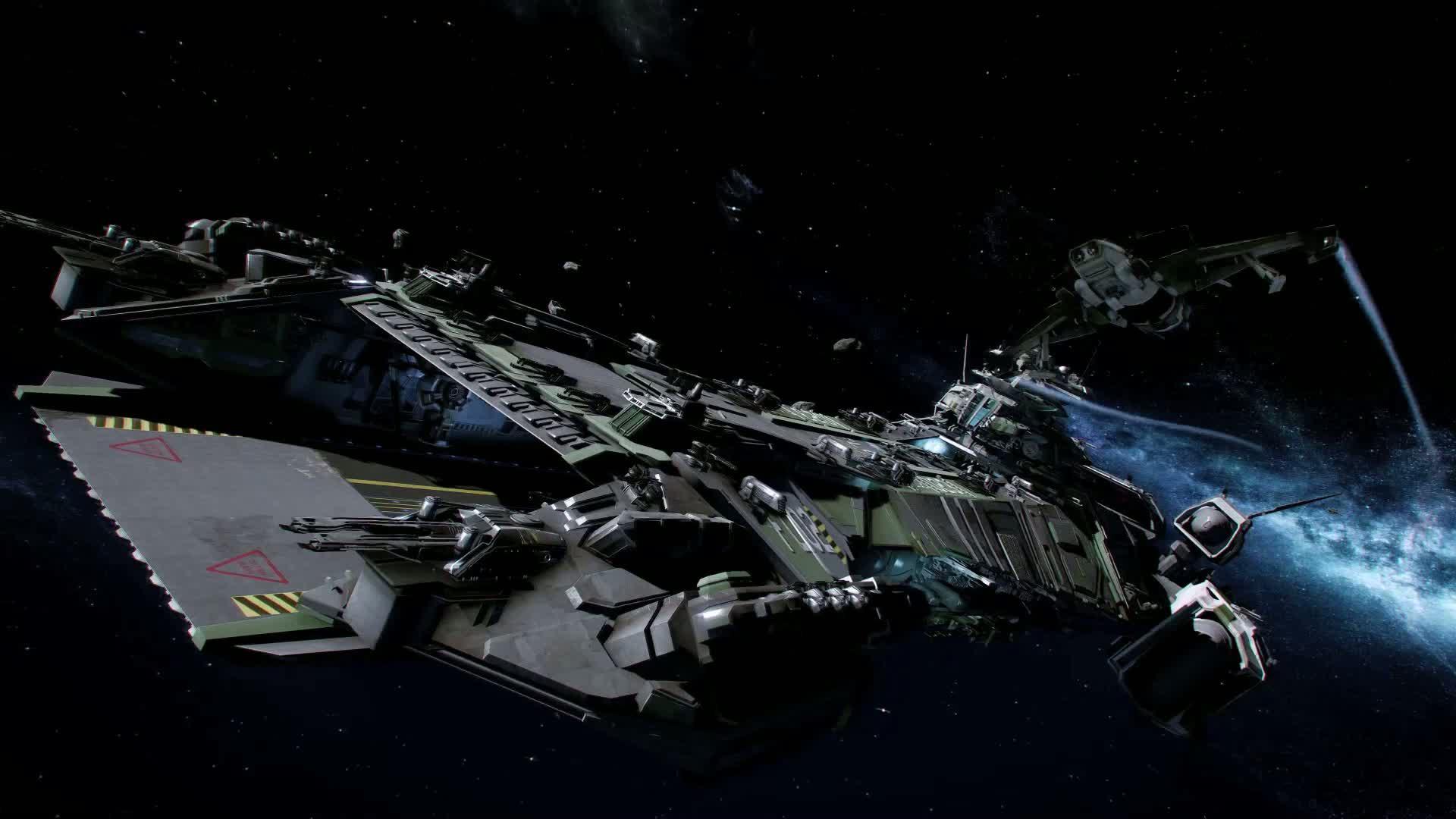 Star Citizen perd 48Go de donnés dans l'espace