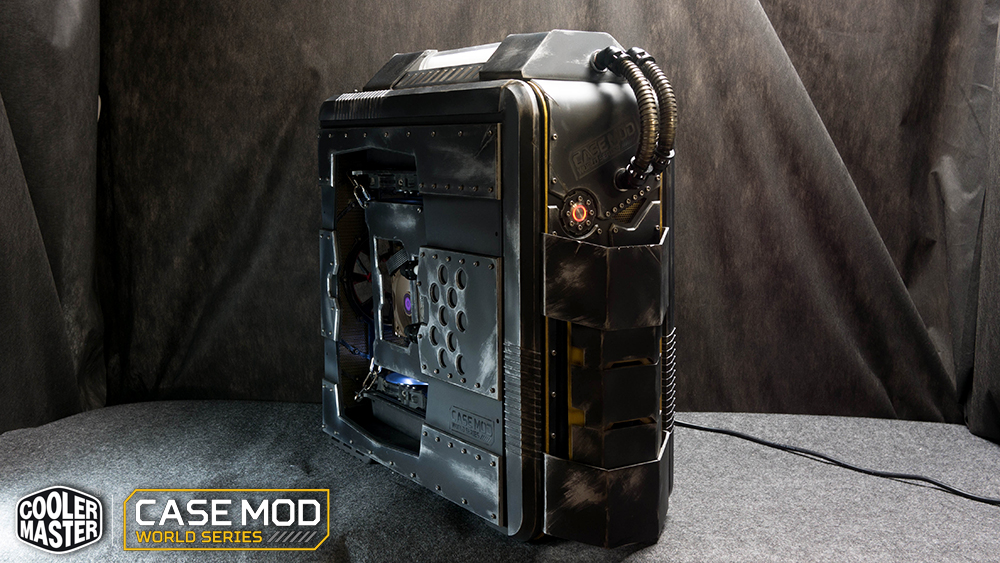 Resultats concours Cooler Master Case Mod World Series 2015