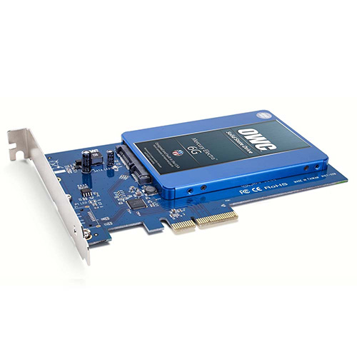 Une carte PCIe pour SSD