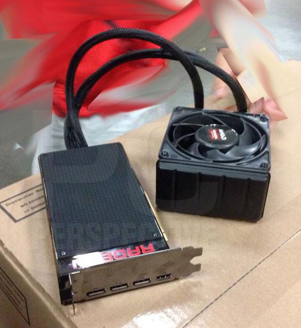 AMD Radeon R9 Fury X en photos