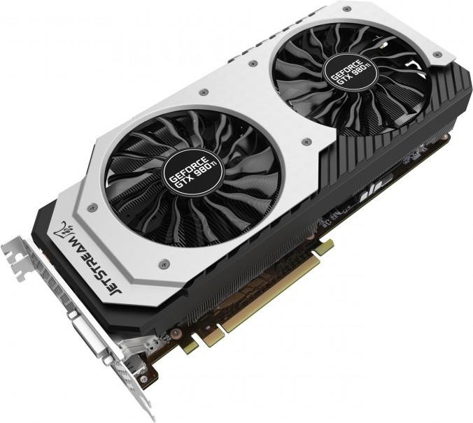 Palit annonce sa GeForce GTX 980 Ti Super JetStream