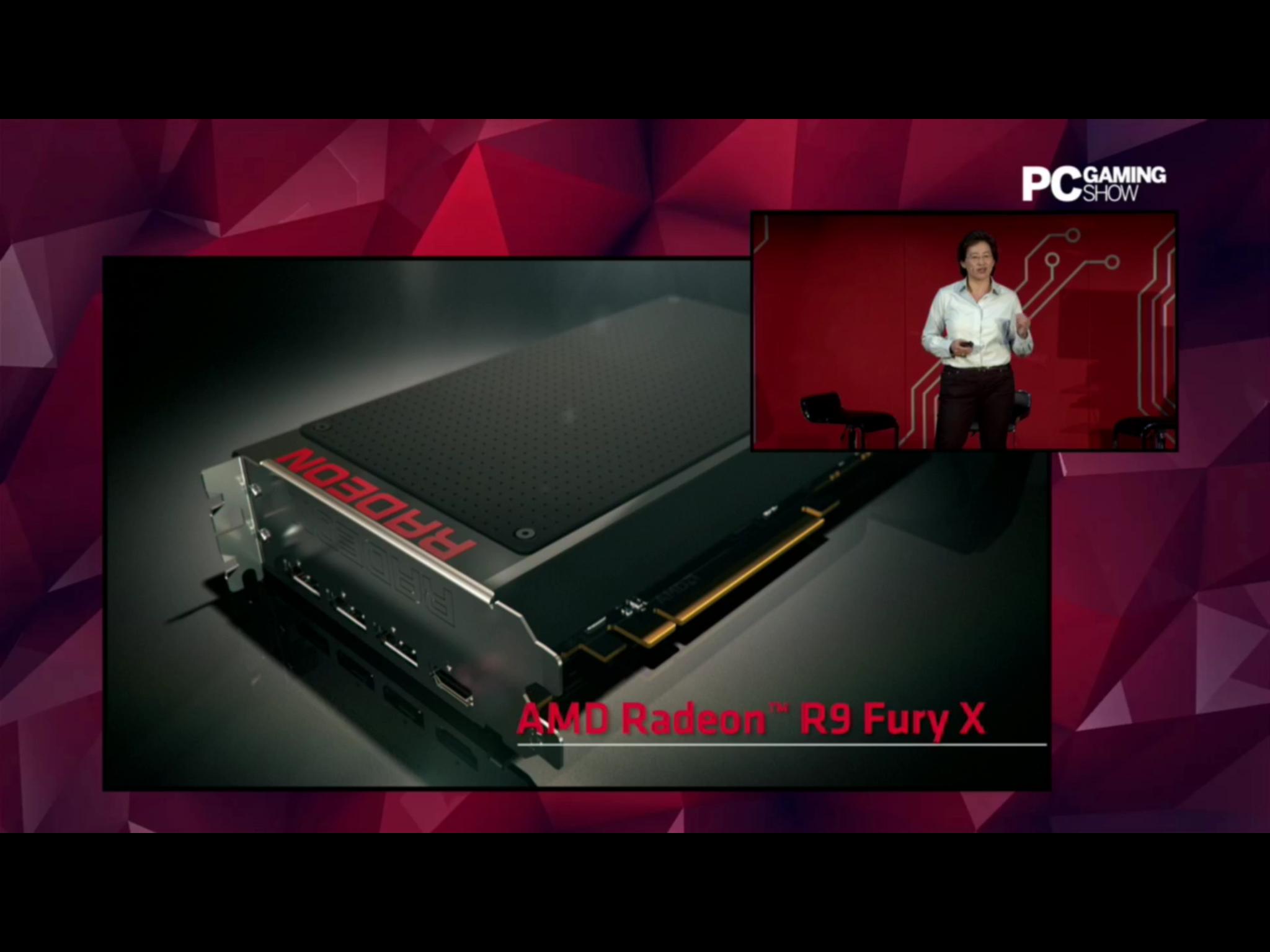 Spécifications de la Radeon R9 Fury X