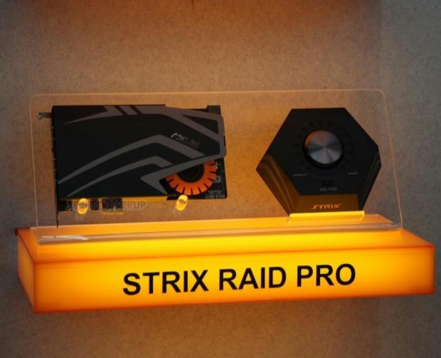 Computex : ASUS lance trois cartes son STRIX 7.1