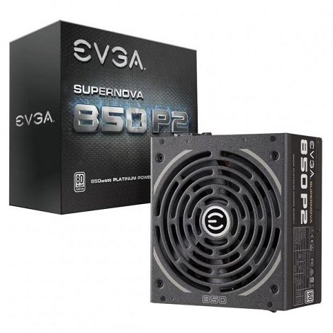 EVGA présente ses alimentations SuperNOVA P2 80 Plus Platinum