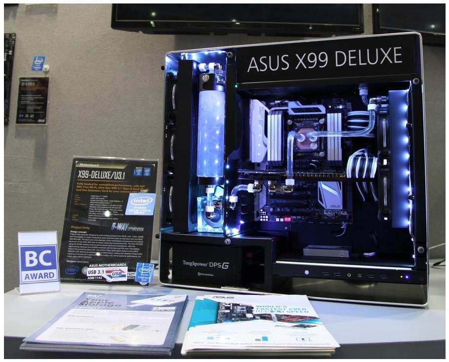 Computex : Les mods du stand Asus ROG