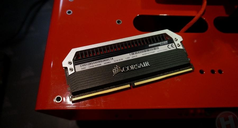 Corsair prépare des modules de 16Go de DDR4