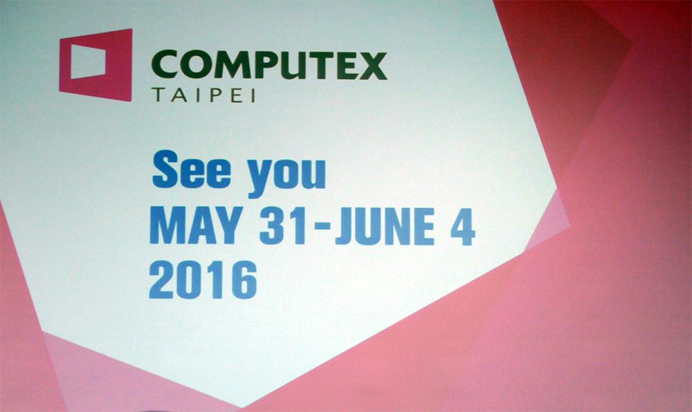 Cloture du Computex 2015