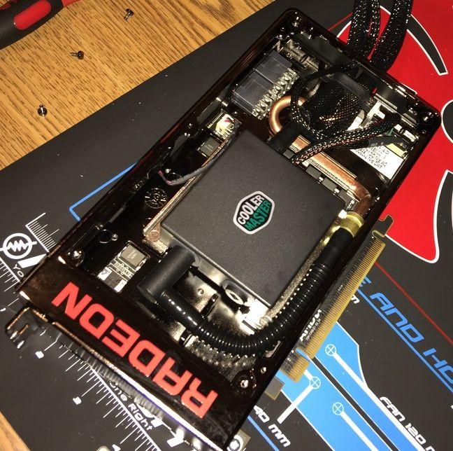 AMD change la pompe de sa Radeon R9 Fury X