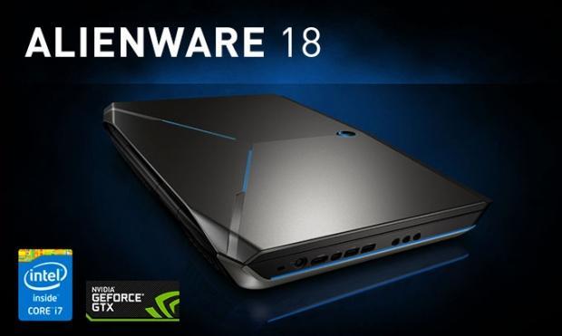 Le nouveau portable Alienware embarque deux GeForce GTX 980M