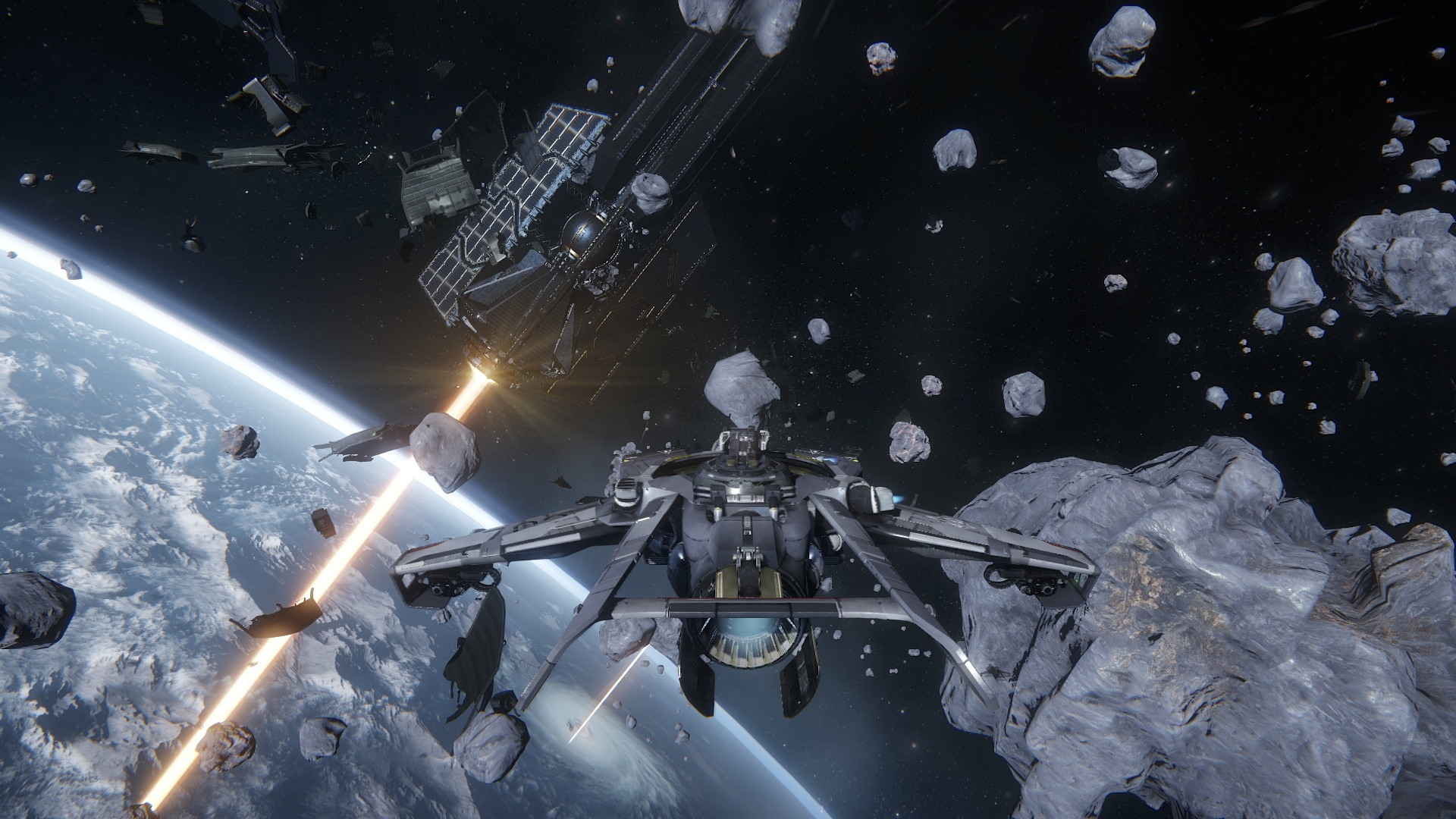 Comment tester le module Star Citizen dogfighting ce we ?