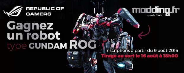 [CONCOURS] Et si vous gagniez un robot Gundam ROG ?