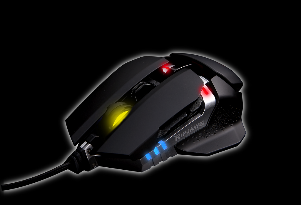 G.SKILL présente sa RIPJAWS MX780 Customizable RGB Laser Gaming Mouse