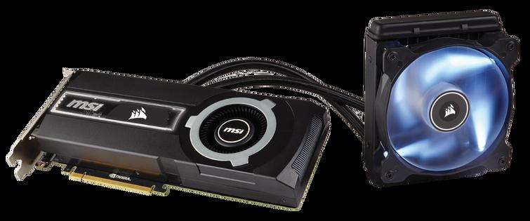 MSI & Corsair annoncent la grosse Hydro GFX GTX 980 Ti