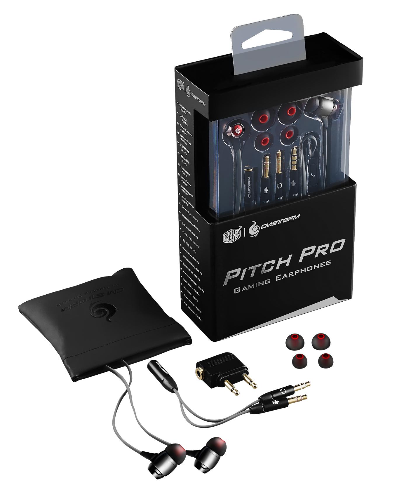 Cooler Master lance les écouteurs Pitch Pro