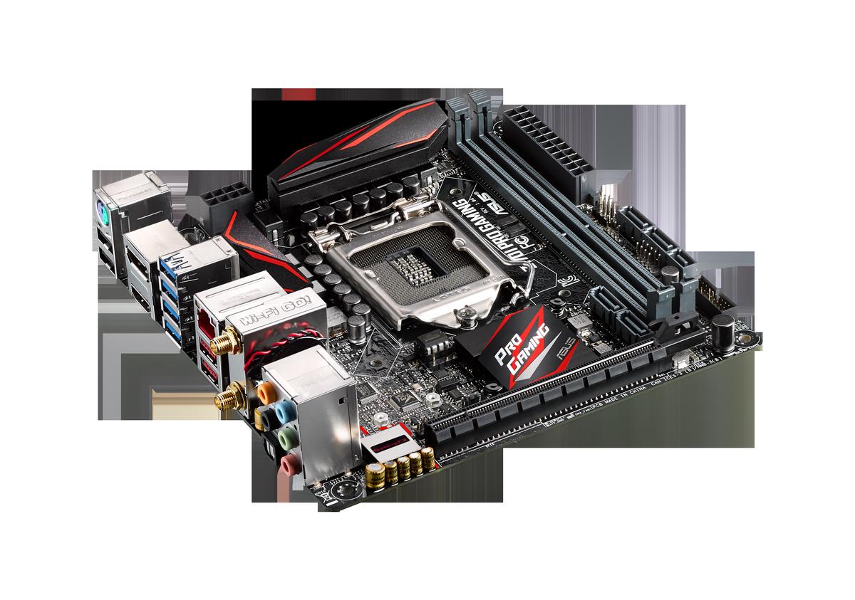 ASUS : Une carte mère Z170 au format m-ITX, la Z170i Pro Gaming