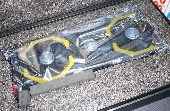 La MSI Geforce GTX 980 TI Lightning se dévoile en photos