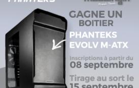 [CONCOURS] Cette semaine on gagne un boitier Phanteks Evolv M-ATX.