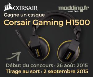 [CONCOURS] Le gagnant du casque gaming Corsair H1500 est....