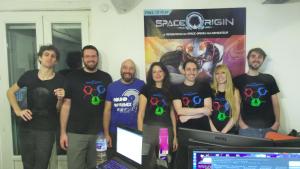 La team dans l'openspace