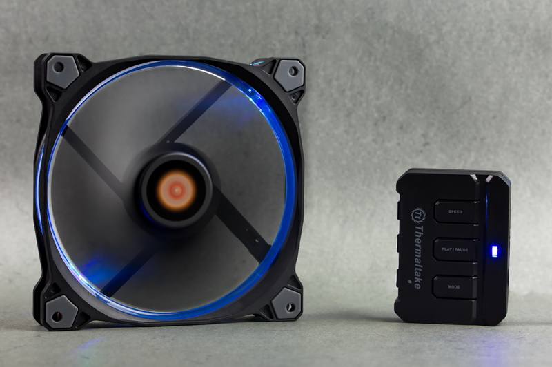 [TEST] Ventilateur Riing 14 RGB de Thermaltake