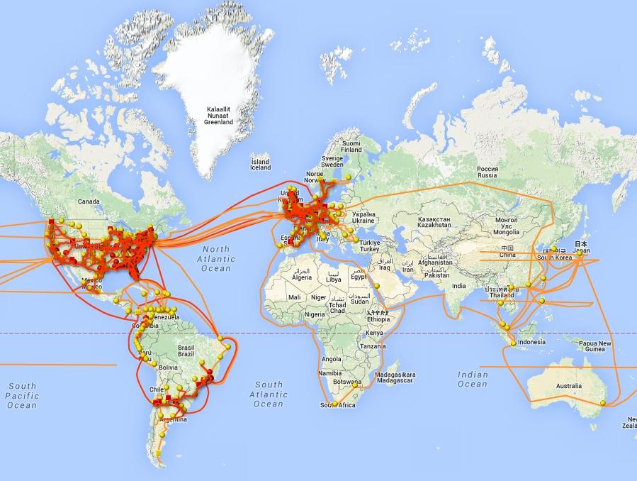 Les Russes étudient comment couper l'Internet mondial