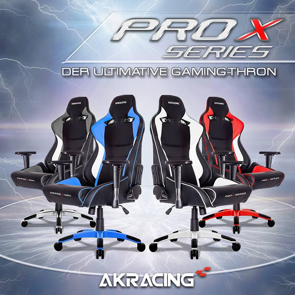 AKRacing annonce la gamme PRO X Series, du haut de gamme.