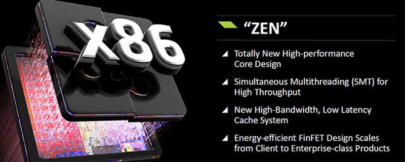 Les prototypes ZEN d'AMD sont conformes aux attentes de la marque
