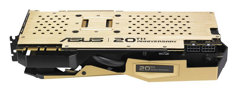 ASUS annonce une GTX980Ti en or !
